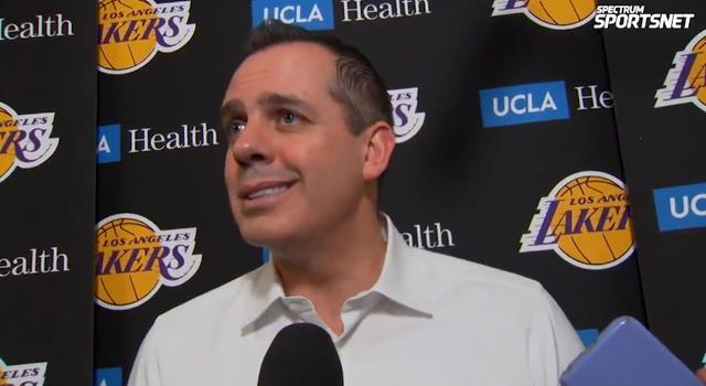 Vogel:Both JR and Waiters are in good shape. Pop is an important part of the Lakers' success this year.
