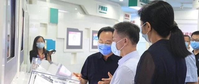 Liu Guiqing, member of the China Telecom Party Group and Deputy General Manager, visited China Xinke Group and had a discussion with Chen Shanzhi, Member of the Standing Committee of the Party Committee and Deputy General Manager of China Xinke Group