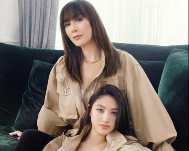 Mom, supermodel, father, actress, how can Ren Dahua's daughter be worse? 15-year-old is so beautiful that he is 1.8 meters tall