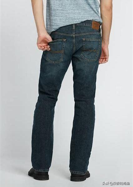 Detailed strategy and collocation features of 45 types of jeans