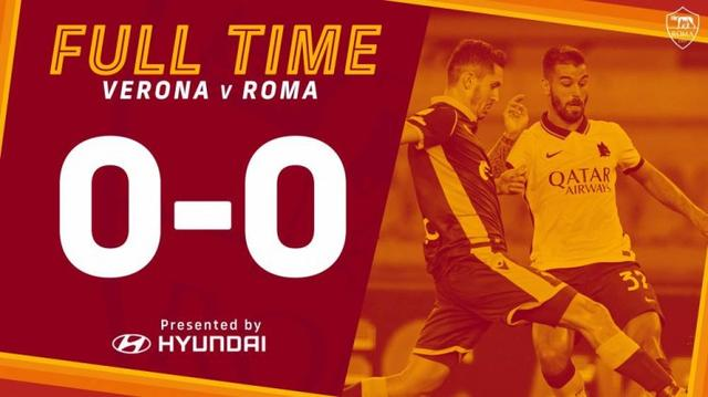 Serie A-3 in the crossbar, Rome 0-0 draw with Verona missed a good start