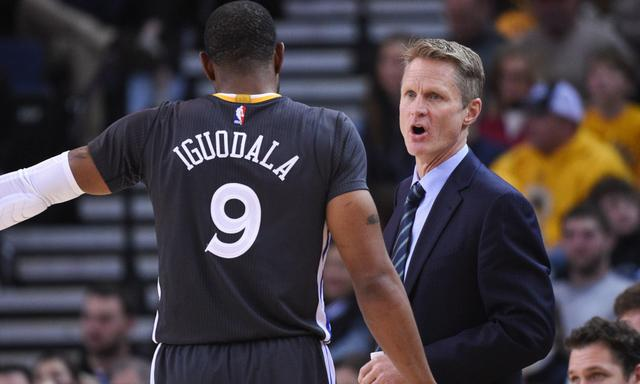 Kerr:Many of our players cheered for Iguodala in the game yesterday
