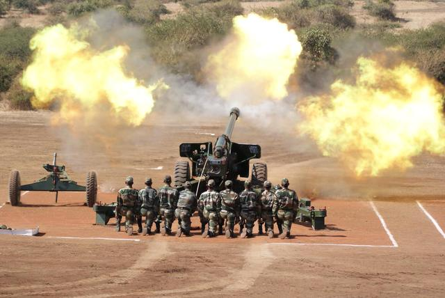 India's new artillery exploded as soon as it was tested, and 3 people were injured. Netizens:It's more embarrassing than a crash