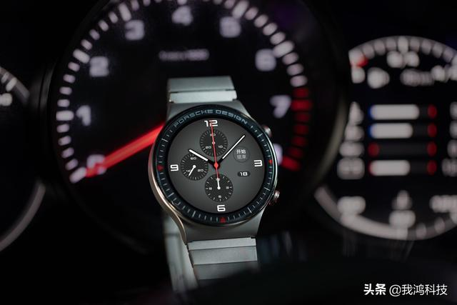 The first Porsche design model of Huawei's WATCH GT series:high-end smart watches are here