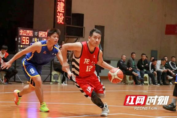 Xiangxi State Games basketball game ended, Longshan men's basketball team won the championship, women's basketball team won the runner-up