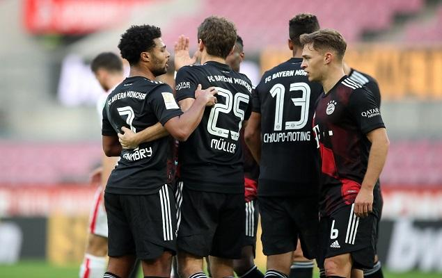 Muller shot Gnabry to score, Bayern 2-1 away from Cologne