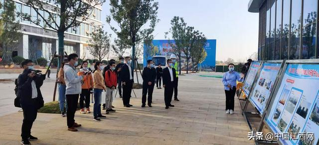 """""""Building Certificate Happiness"""" Jiangxi Branch of the General Contracting Company of China Construction Fifth Engineering Group Co., Ltd. held the opening day of major key projects"""