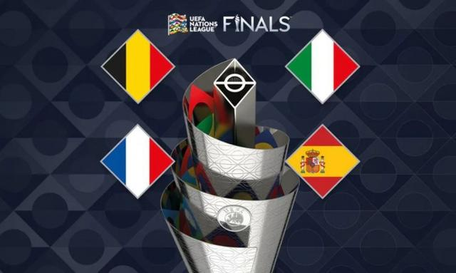 The top 4 finalists of the UEFA Europa League are released:Italy, Belgium, France, Spain