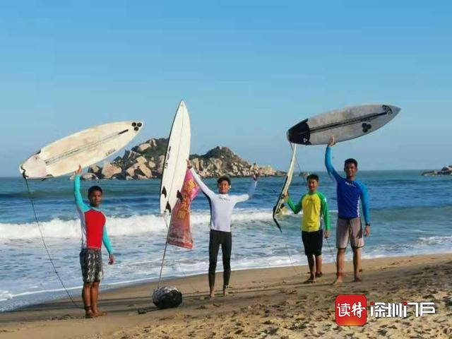 """Shenzhen surfing team bravely""""bright sword"""" in the first provincial youth competition! Won the first place in the total number of gold medals, taking the top three shortcomings in Men's Group A"""
