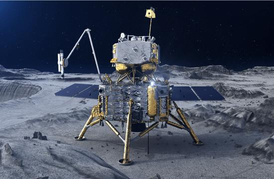 "Exciting!""Chang'e 5″ is about to land on the moon, and will achieve the first feat of no one taking the moon"