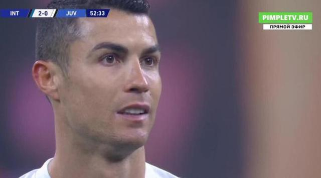 Ronaldo is stateless! Only one touch of the ball in the penalty area