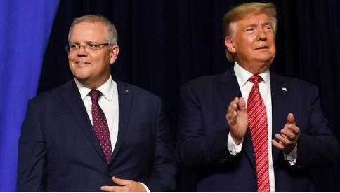 "If the friendship boat is overturned? Australian Prime Minister Morrison criticized Trump for""inciting violence"""