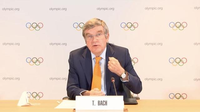 International Olympic Committee President Bach:Will go all out to ensure the Tokyo Olympics