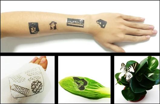 """Patch """"tattoo"""" to get disease warning: graphene electronic skin shows bright prospects"""