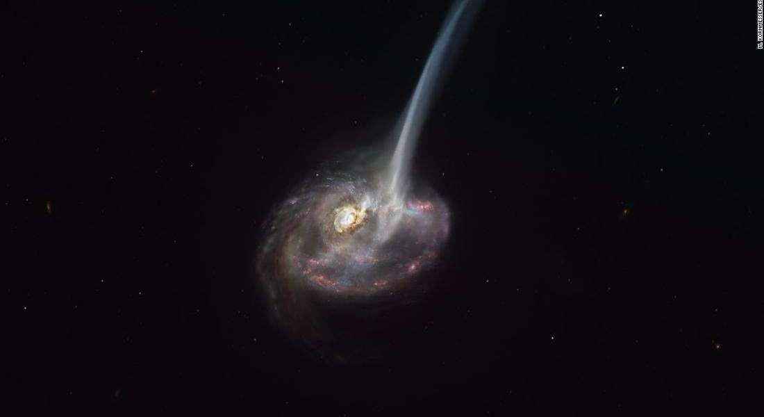 For the first time: astronomers witness the death of galaxies