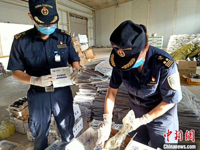 Kunming Customs seized 125,000 intellectual property infringing commodities in 2020