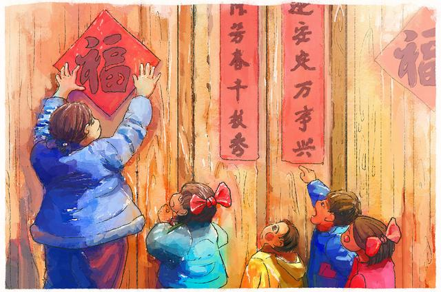 Chinese New Year's Eve is approaching. Don't forget to tell your children about the history, legends, customs and taboos of the New Year