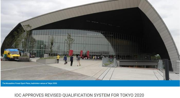 IOC confirms Tokyo Olympics badminton points schedule, June 15 to set rankings