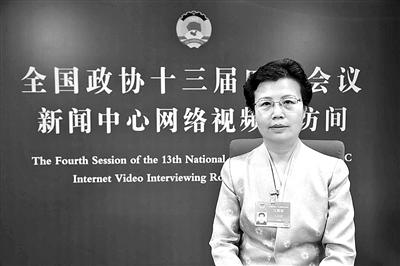 Wang Yanxia, member of the National Committee of the Chinese People's Political Consultative Conference: Suggests to improve the level of school physical education