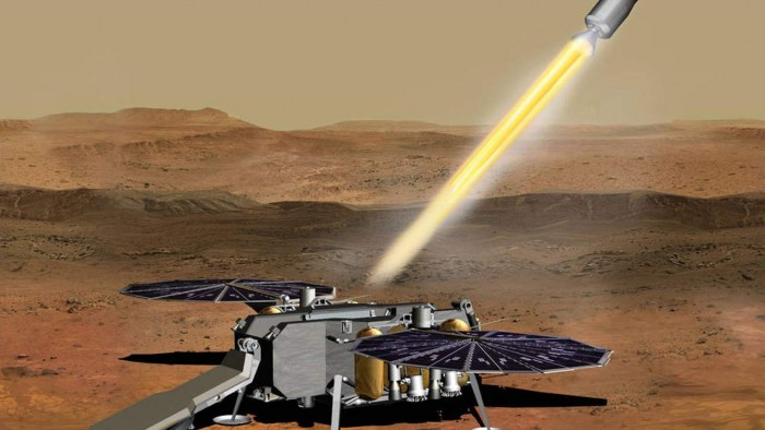 NASA has awarded Northrop Grumman a contract to return samples from Mars