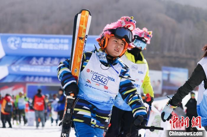 The finals of the Super Fixed-point Ski Open ended 24 college teams participated