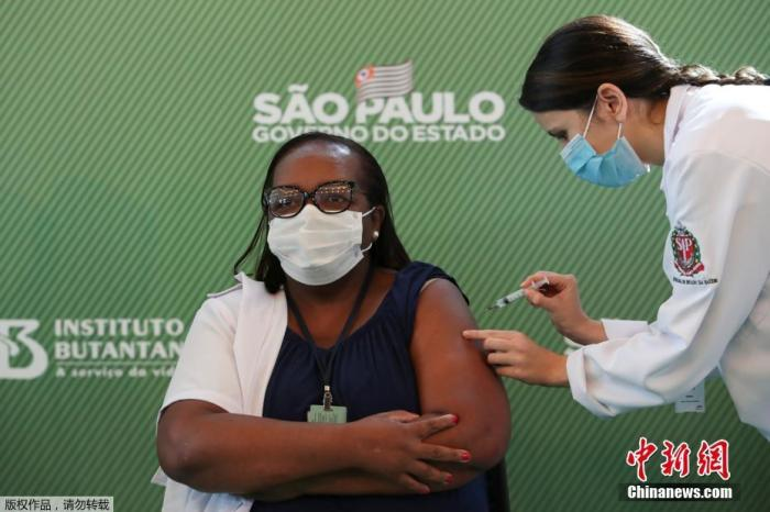 Brazil confirmed more than 13.97 million cases, another Chinese vaccine approved for trials in Brazil