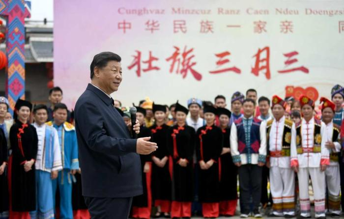 """At first sight, what the Communist Party of China speaks counts, the """"road"""" of the general secretary is the best witness"""