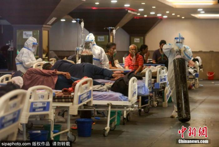 """Short of oxygen, India """"can't breathe"""" Fauci: Hurry up and learn from China to fight the epidemic"""