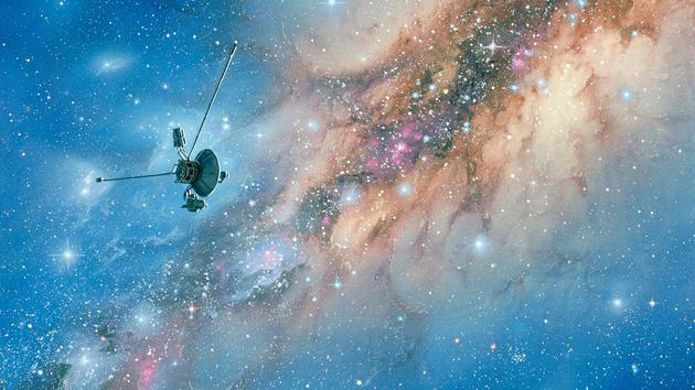 """The star pair serves as a reference target for the galaxy, allowing the spacecraft to find the """"way home"""""""