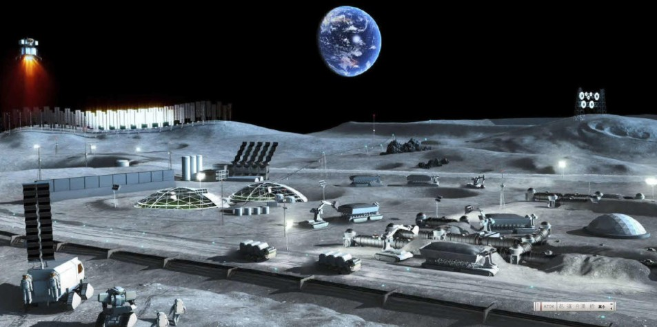 Japan Space Research Institute successfully experimented with new ideas and remotely operated a lunar building