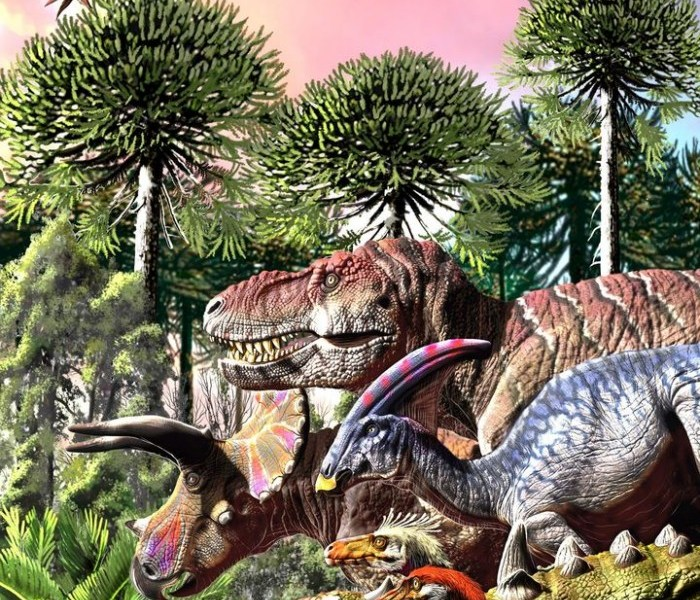 [Picture] New research shows that dinosaurs had decayed for more than 10 million years before the planet's impact and extinction