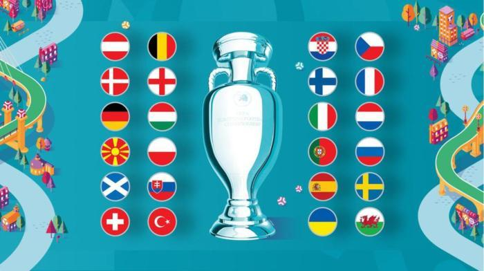 The 24 teams in the European Cup have scored goals! England Hard Steel Death Group
