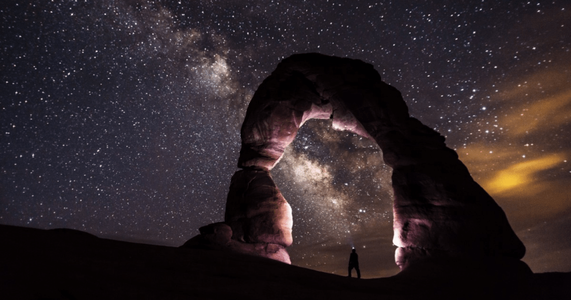 Why does outer space look so dark?