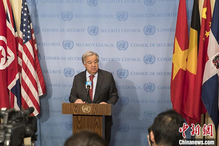 Guterres condemns the Baghdad bombing, stresses that the perpetrators will be brought to justice
