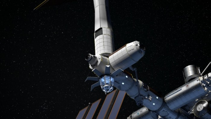Thales Alenia Aerospace will develop booster modules for Axiom's private space station