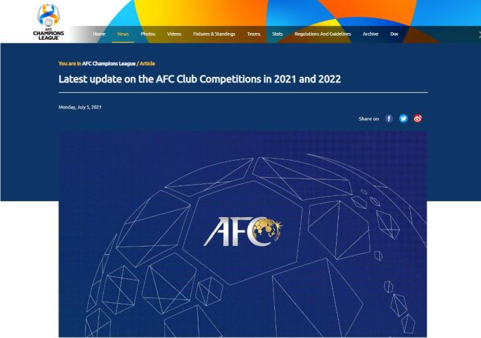 AFC: AFC quarter-finals start single-legged finals will be held in West Asia
