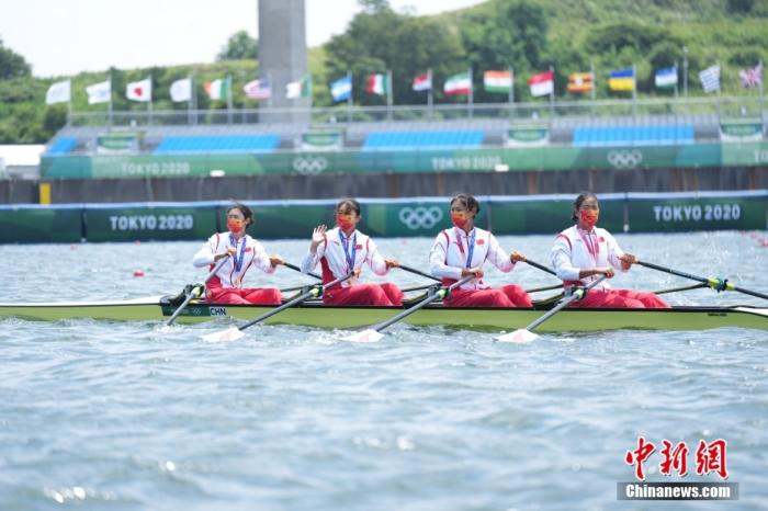 What is the difference between China's Golden Flower Rowing and the world record?