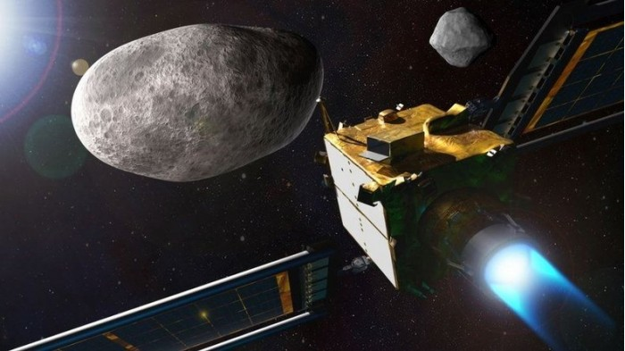 To prevent the destruction of the earth, NASA plans to use spacecraft to hit asteroids to gain experience