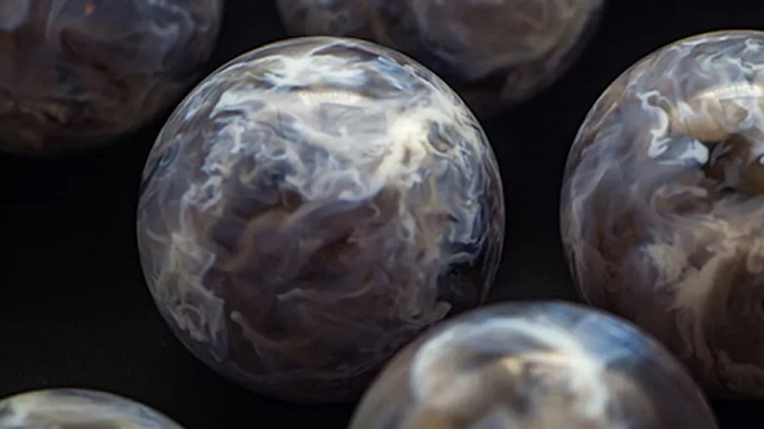 Astrophysicists use 3D printed spheres to visualize the cosmic gas cloud that breeds stars