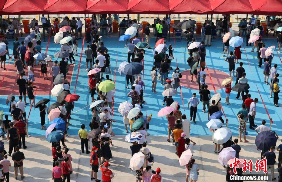 Xiamen launches nucleic acid testing for all employees in the city