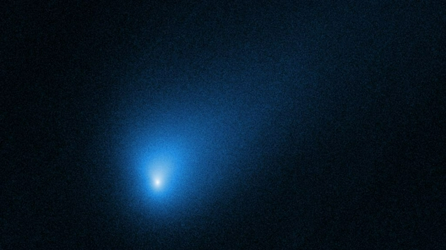"""How much of the solar system is made up of foreign matter? """"Very few"""""""