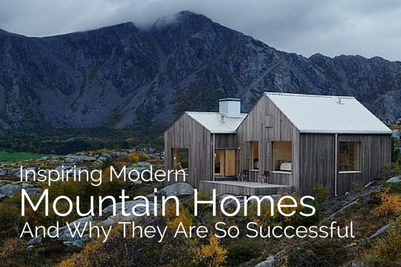 Captivating View Larger Image Inspiring Modern Mountain Homes + Why They Are So  Successful