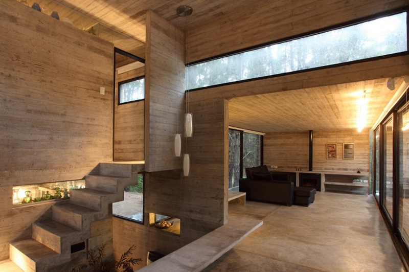 Minimalist Interior Design. [JD House By BAK Architects. Photo By Gustavo  Sosa Pinilla]