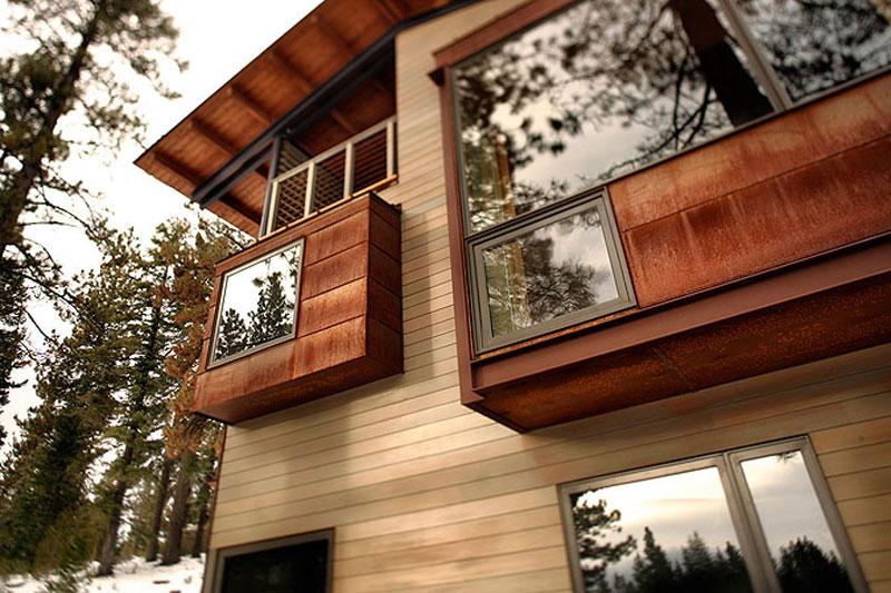 Modern Mountain House Exterior Cladding