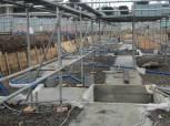 基礎工事用の足場組み