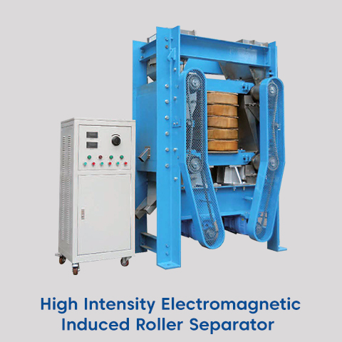 high intensity electromagnetic induced roller separator