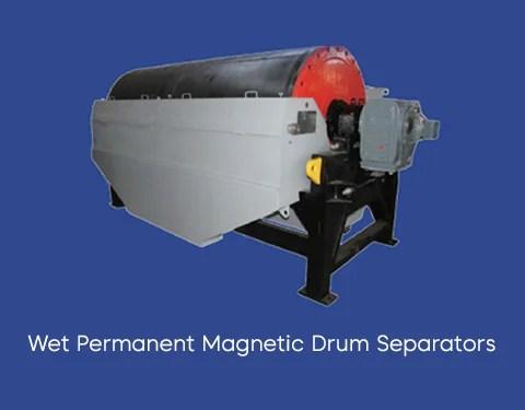 wet permanent magnetic drum separator