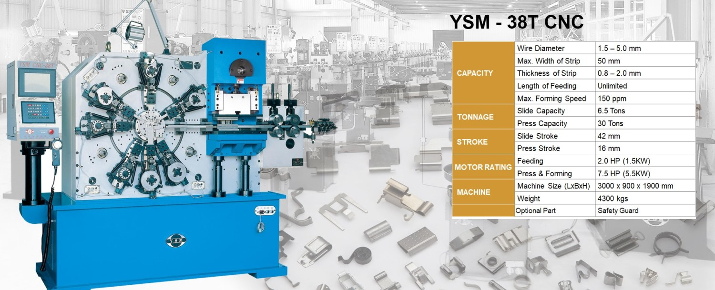 YSM - 38T CNC