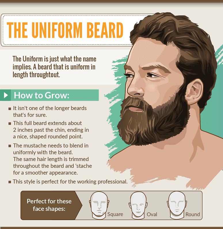 Different Beard Styles For Men Amp Cross Fit Short Long