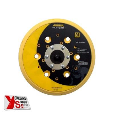 Yorkshire Spray Services Ltd - Mirka Backing Pad Net 150mm 5_16 Grip 48H Medium